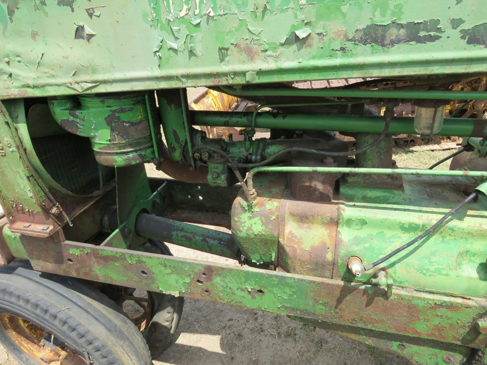 1936 John Deere Unstyled A Tractor - Image 7