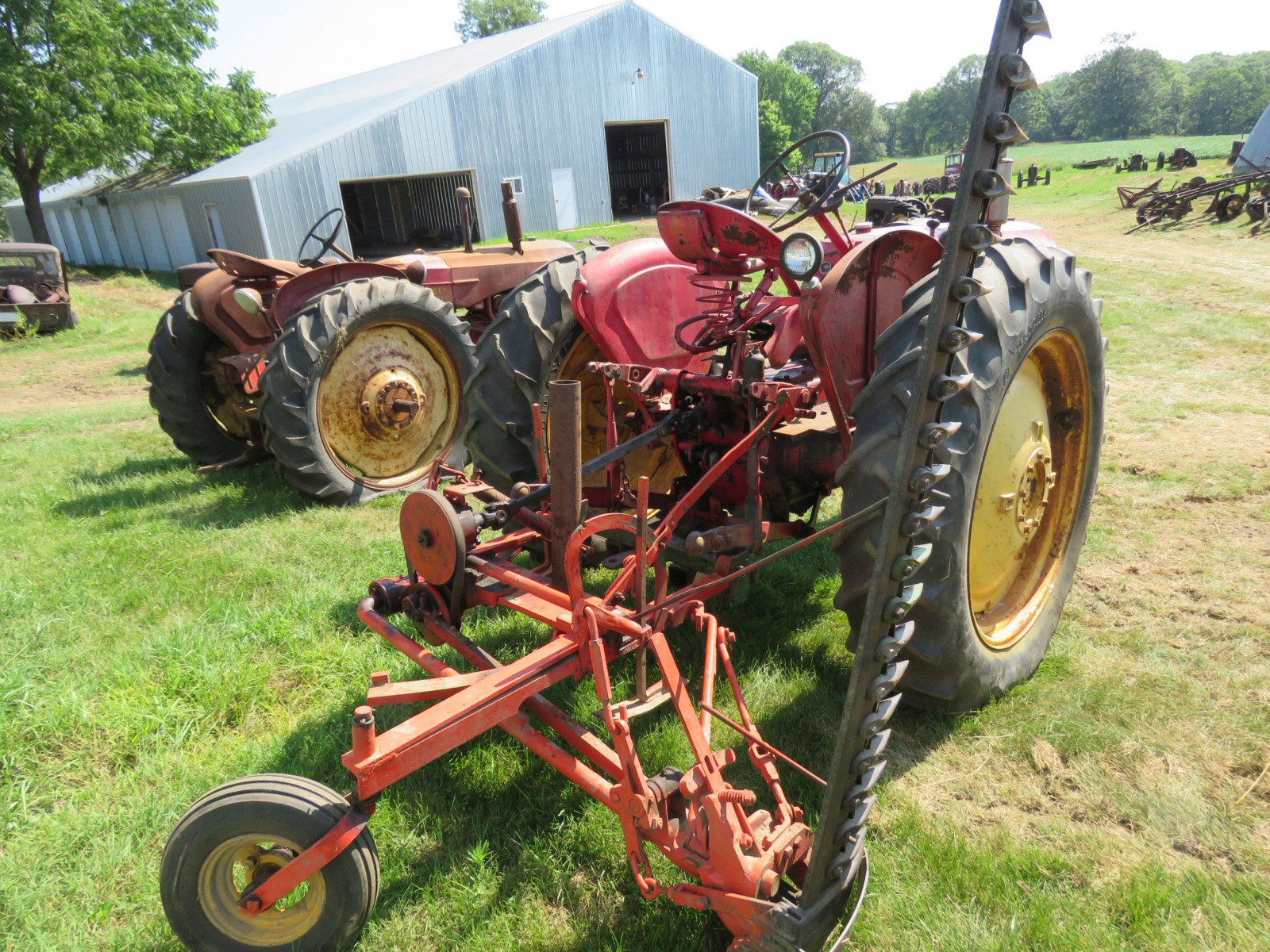 1955 Massey Harris 44 Special Tractor - Image 4