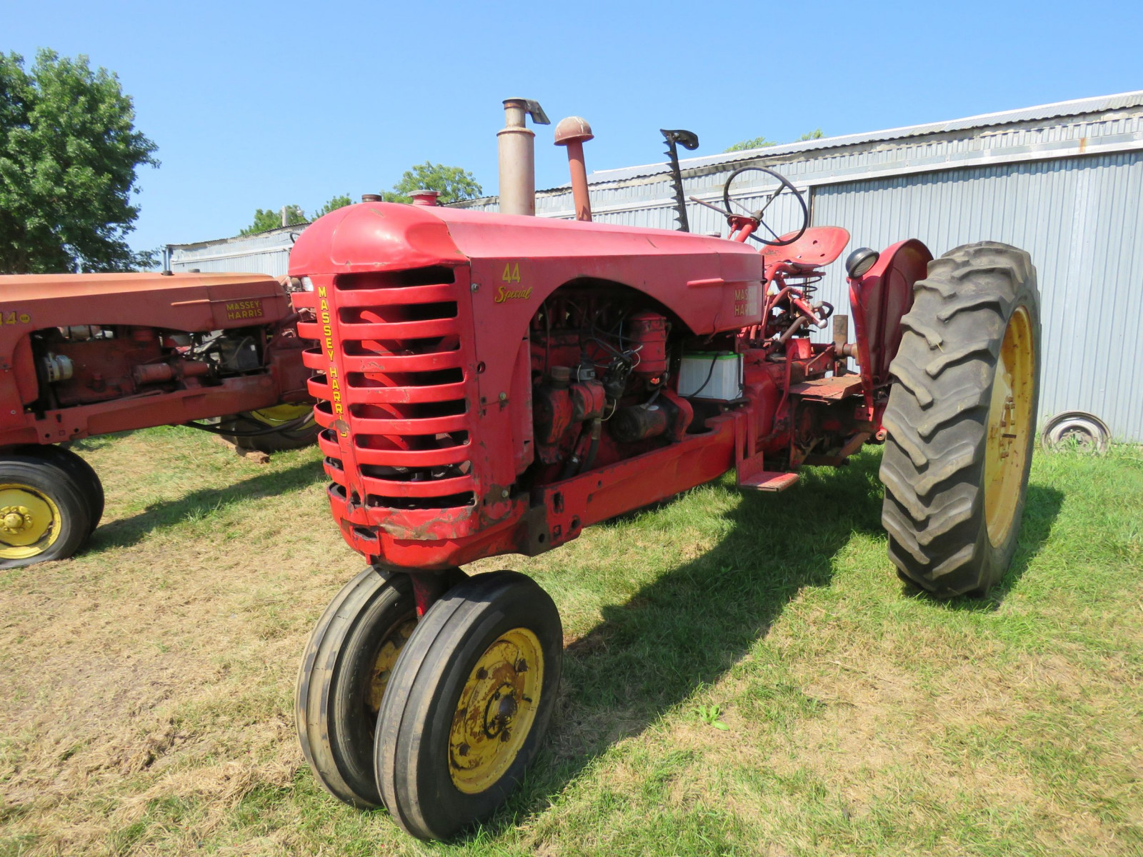 1955 Massey Harris 44 Special Tractor - Image 8