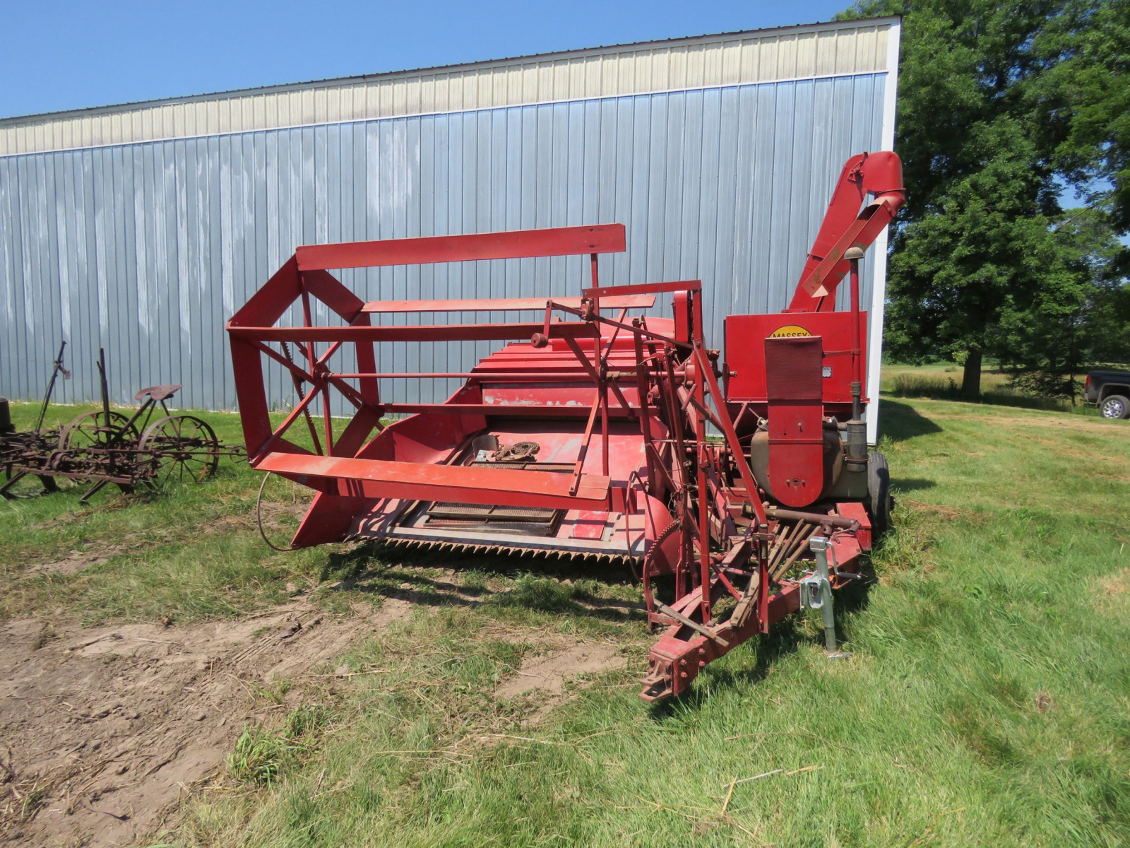 Massey Harris Clipper Combine - Image 1