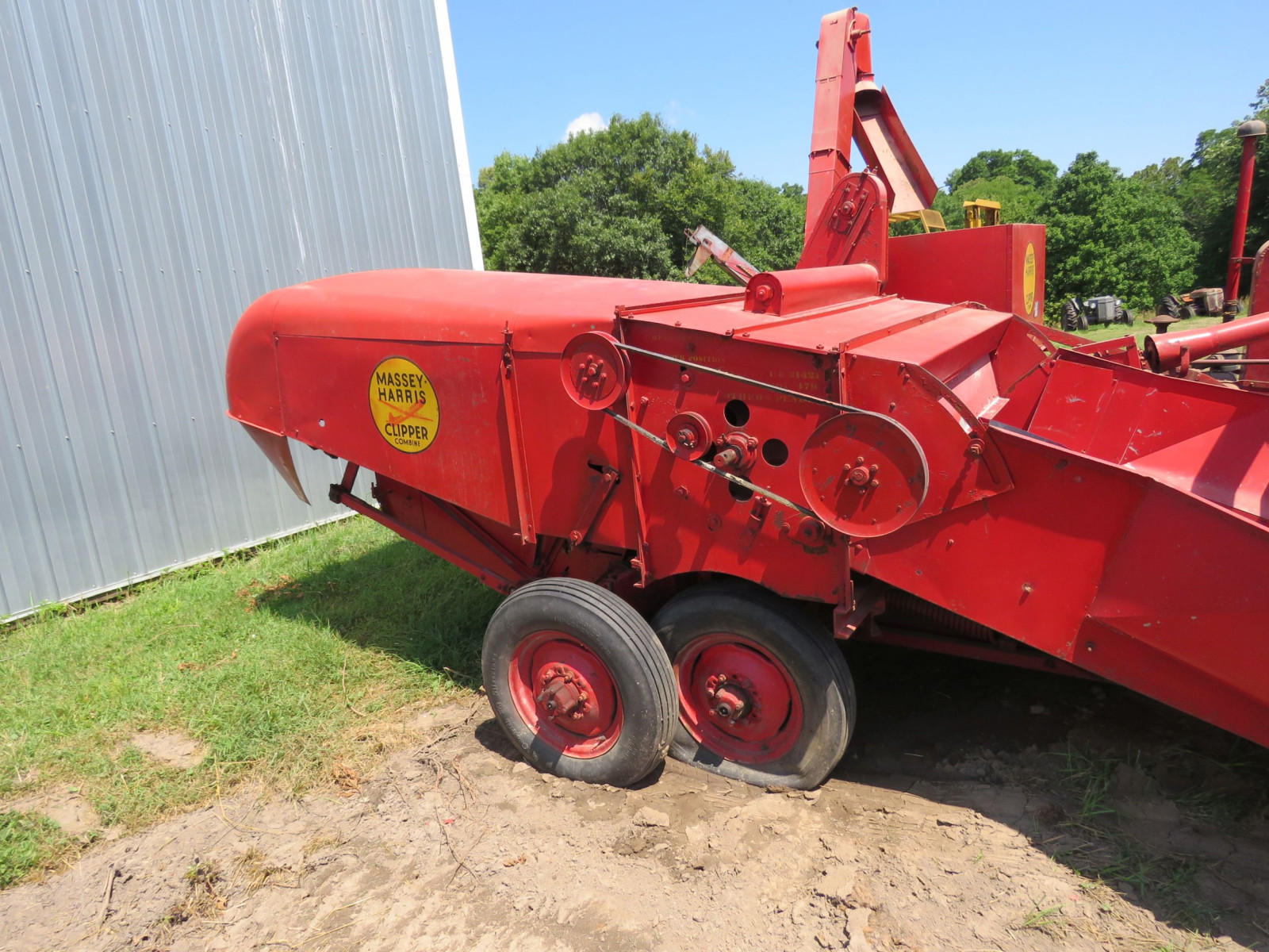 Massey Harris Clipper Combine - Image 3