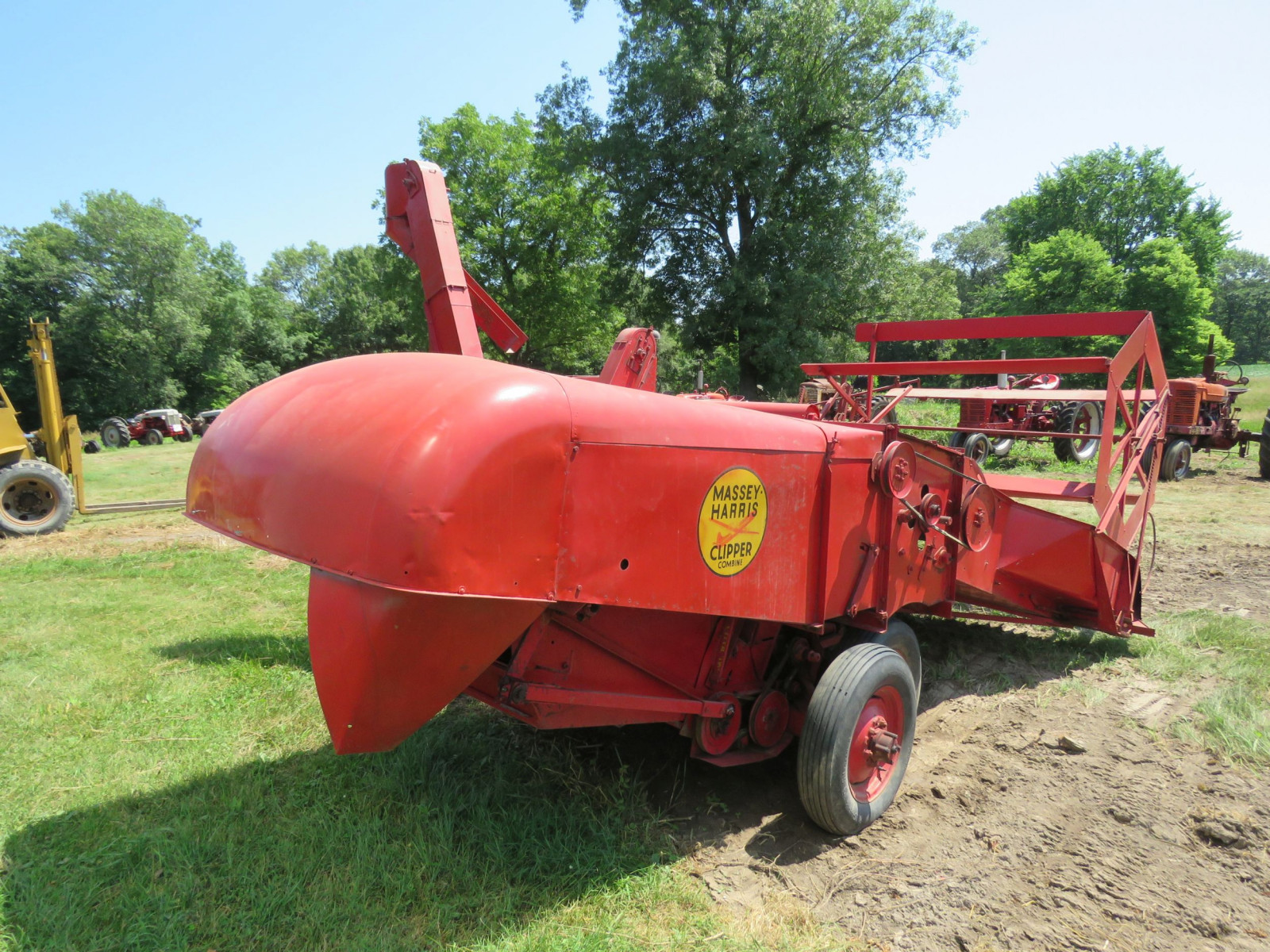Massey Harris Clipper Combine - Image 4