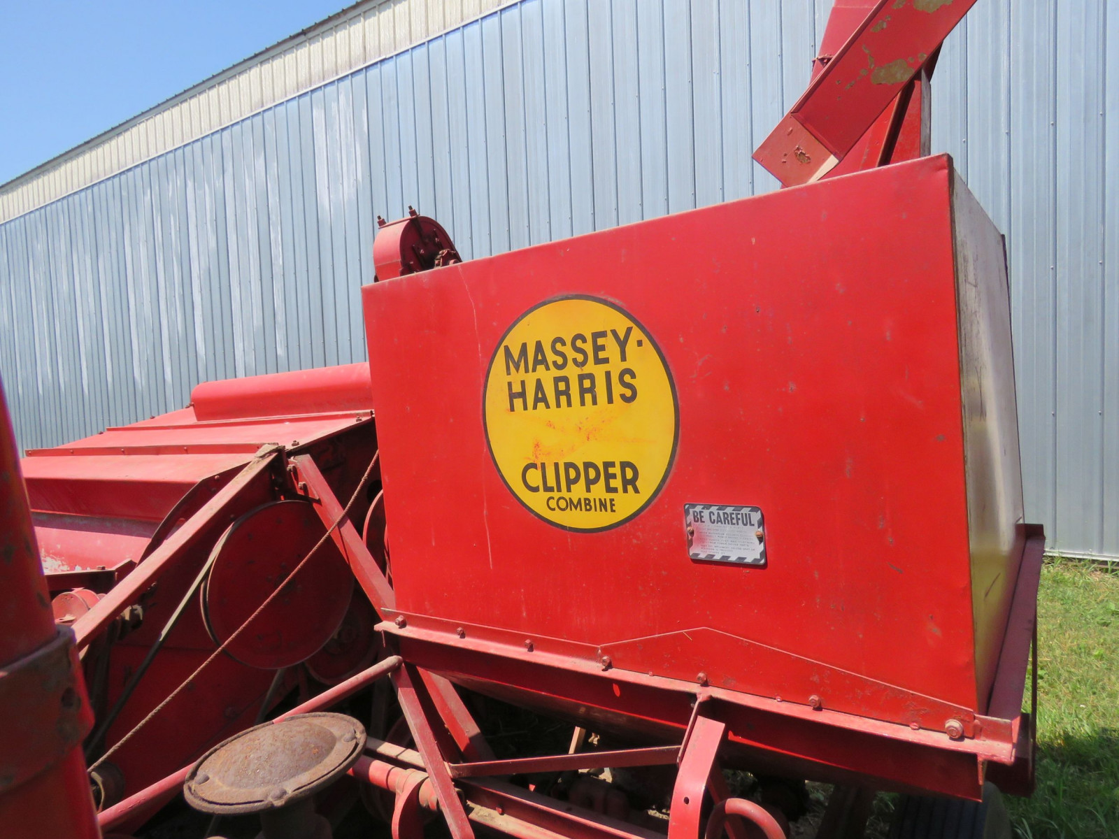 Massey Harris Clipper Combine - Image 9