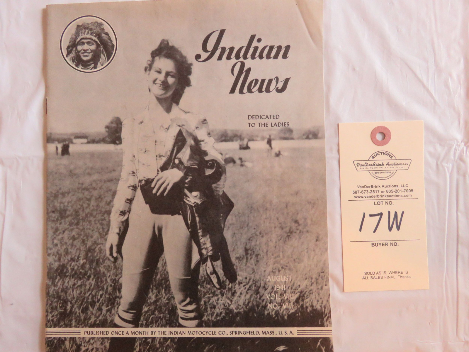 August 1941 Indian News Magazine - Image 1