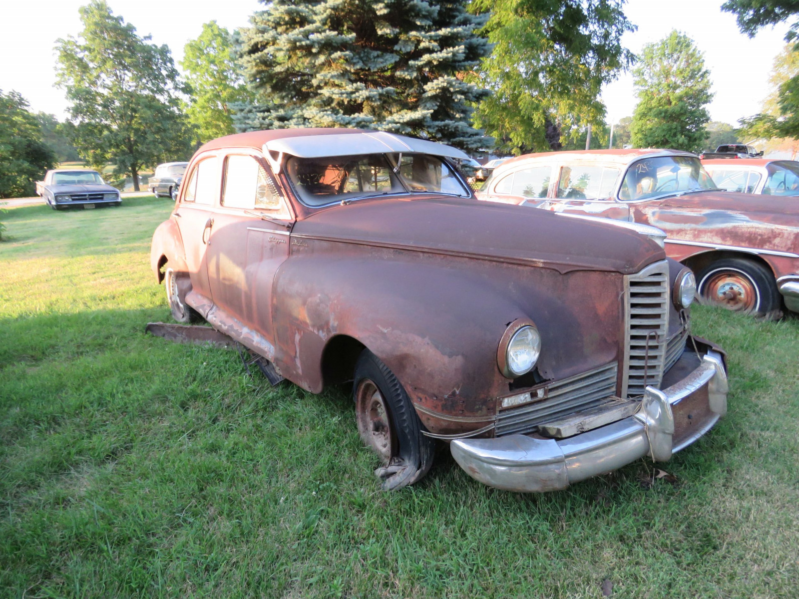 1948 Packard Sedan for parts - Image 1