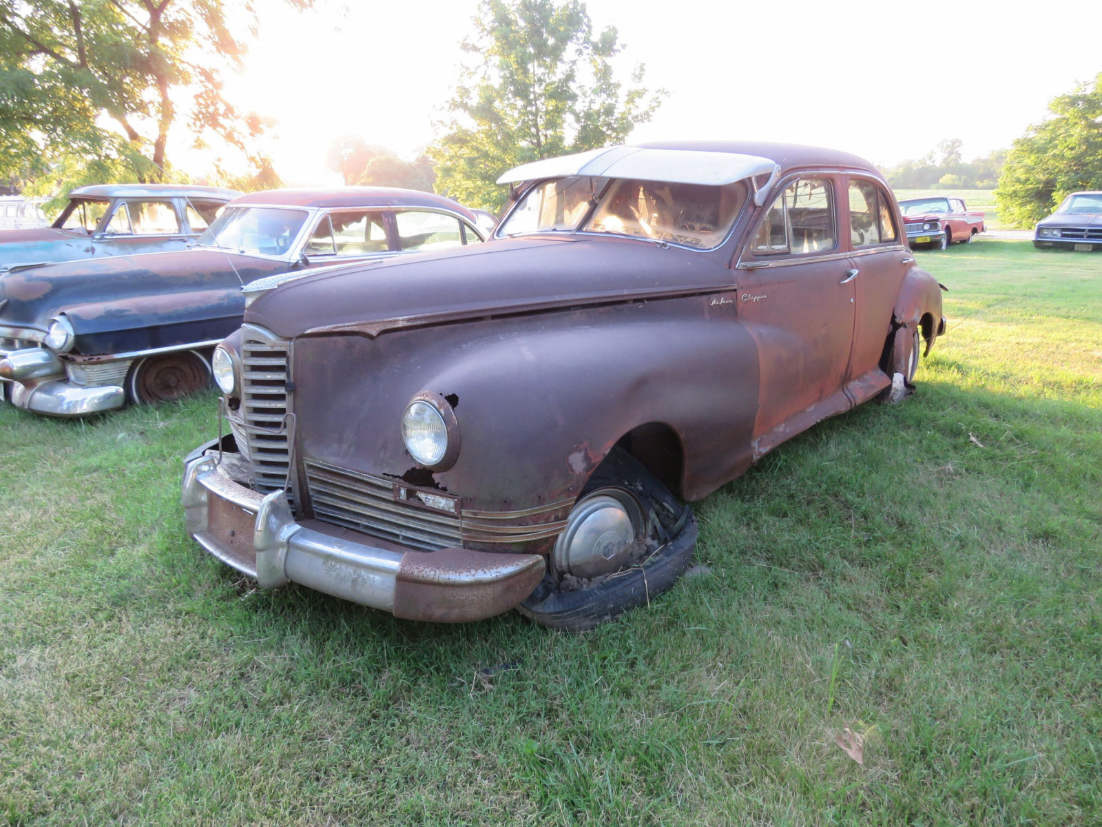 1948 Packard Sedan for parts - Image 3