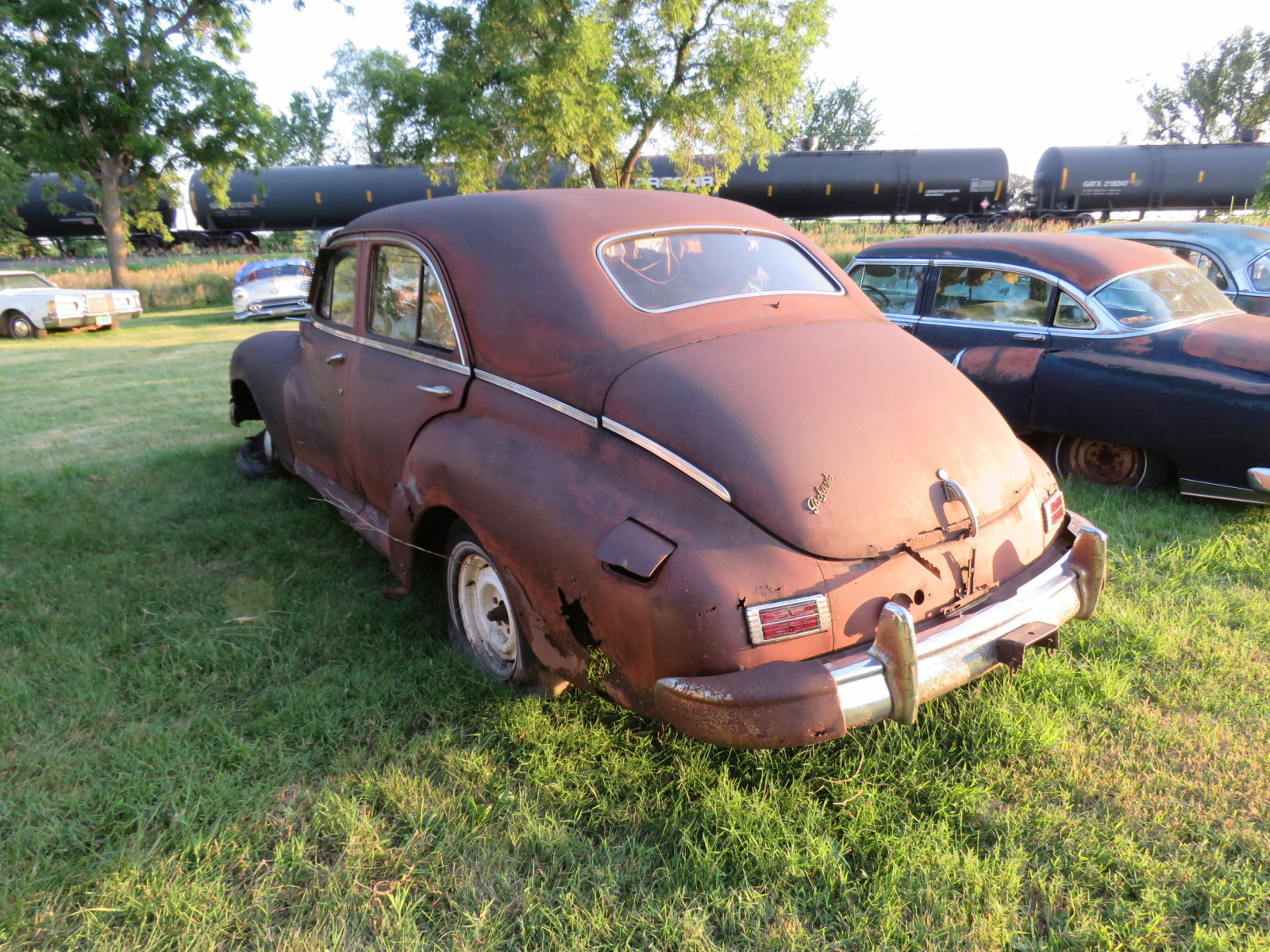 1948 Packard Sedan for parts - Image 4