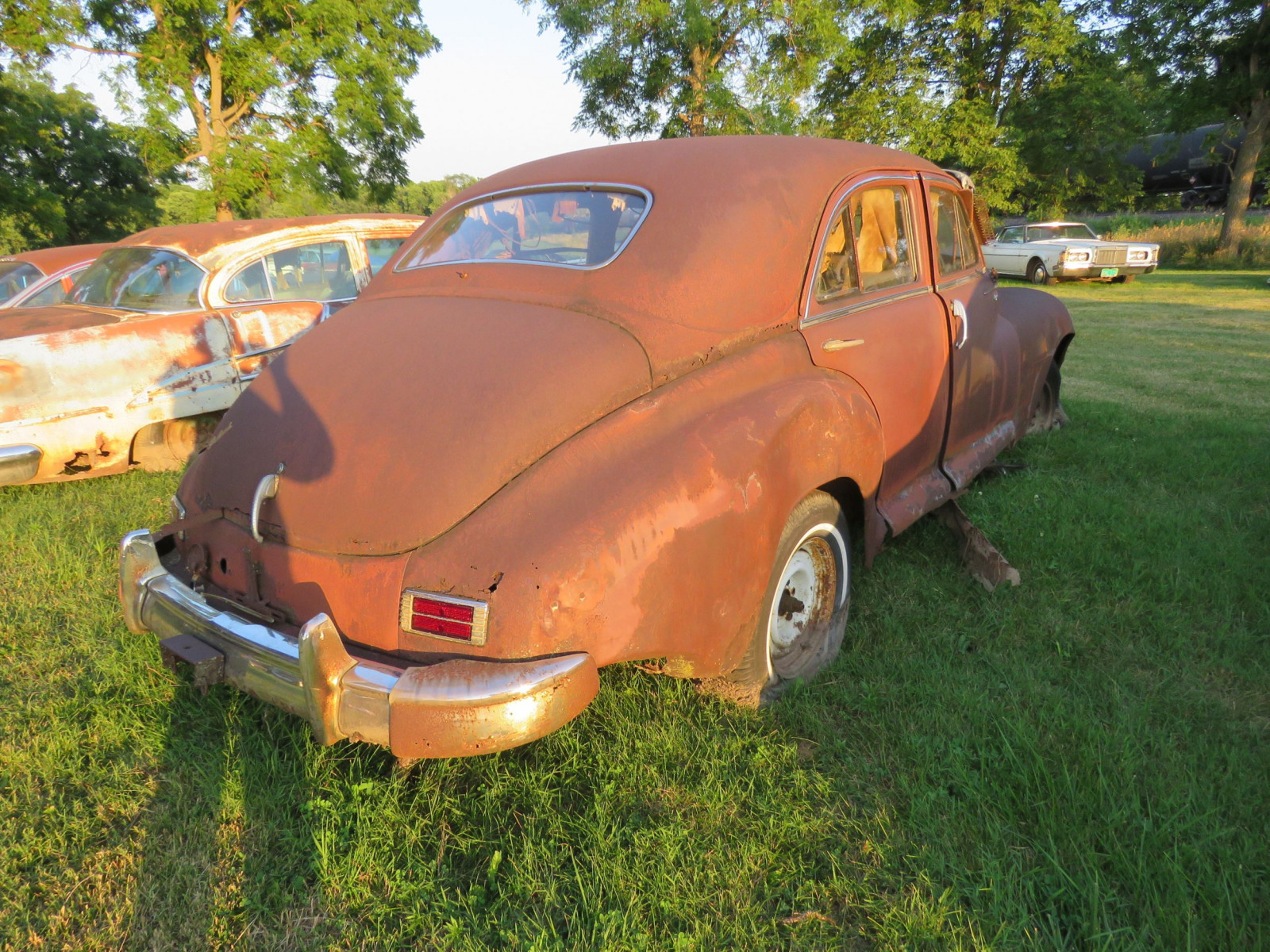 1948 Packard Sedan for parts - Image 5