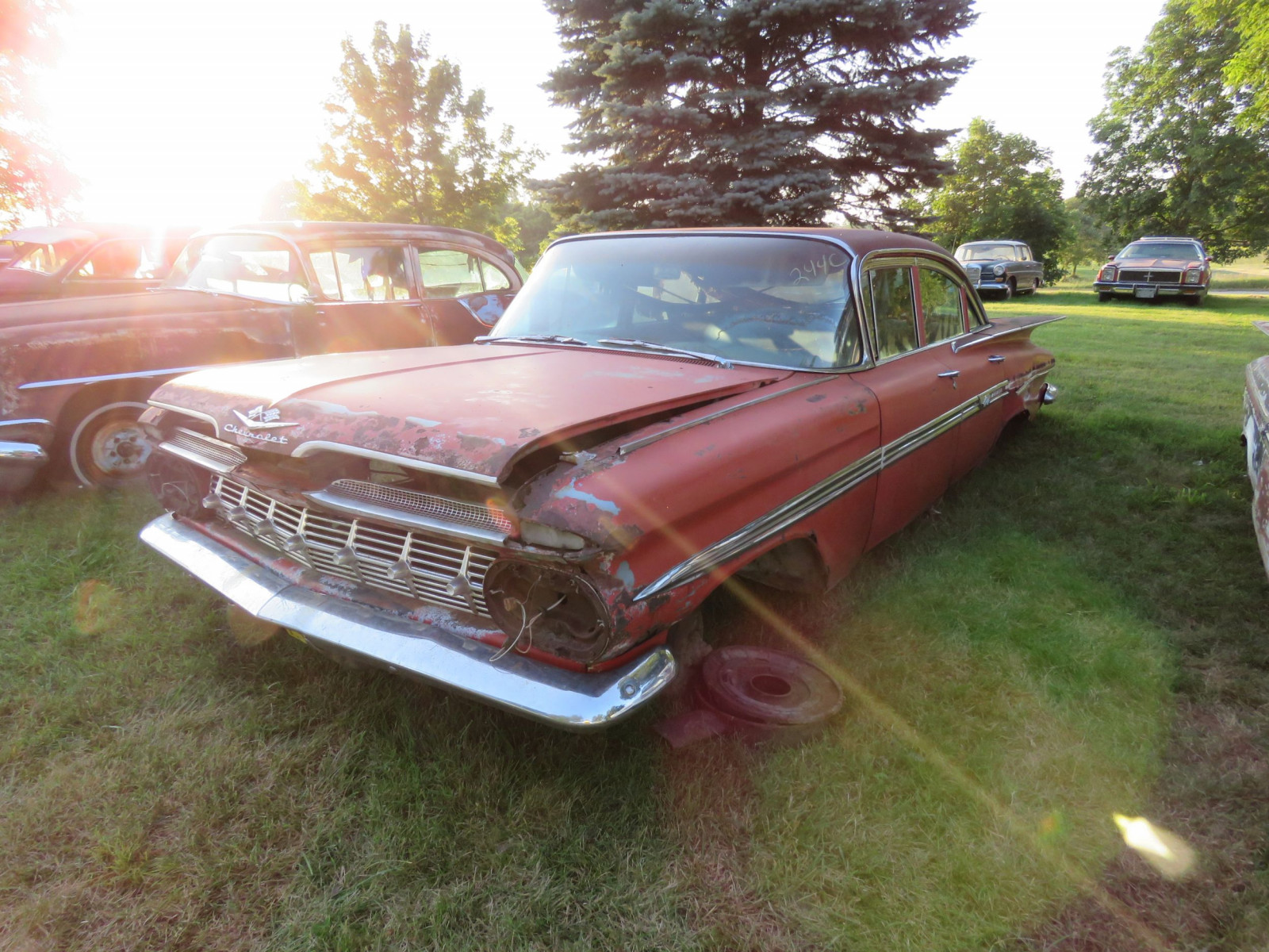 1959 Chevrolet 4dr Sedan for parts or project - Image 1
