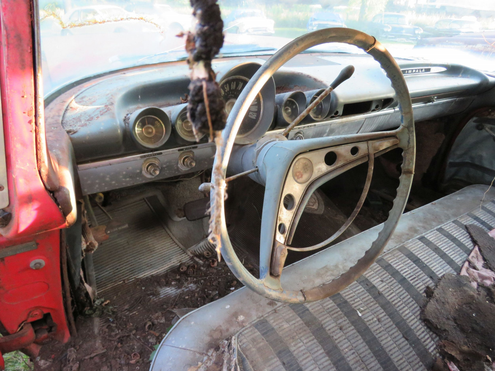 1959 Chevrolet 4dr Sedan for parts or project - Image 10